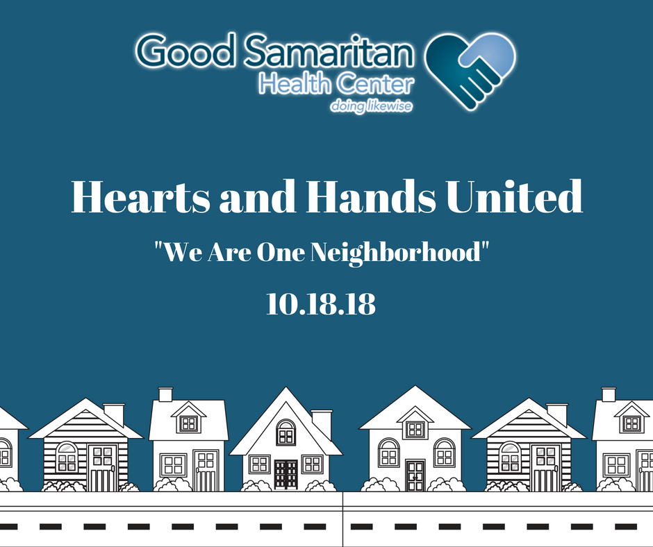 Hearts And Hands United We Are One Neighborhood